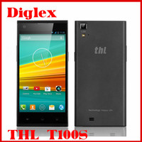 Original THL T100S MTK6592 Octa Core Android 4.2 Mobile Phone 5.0 inch 2GB RAM 32GB ROM 13MP Dual Sim GPS 3G Cell Phone OTG