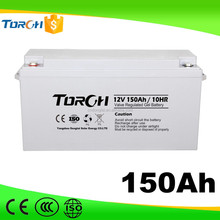 Custom high capacity storage battery 12v 150ah