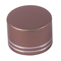 38mm oxidation aluminum&plastic cap,anodized metal screw cap,Ensure 100% qualified