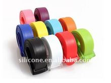 Fashion silicone cute belt--Newproducts