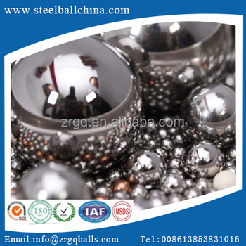 high precision AISI52100/SUJ2 chrome bearing steel balls for bearing