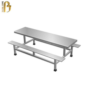 custom stainless steel high quality chairs and desks sets fabrication