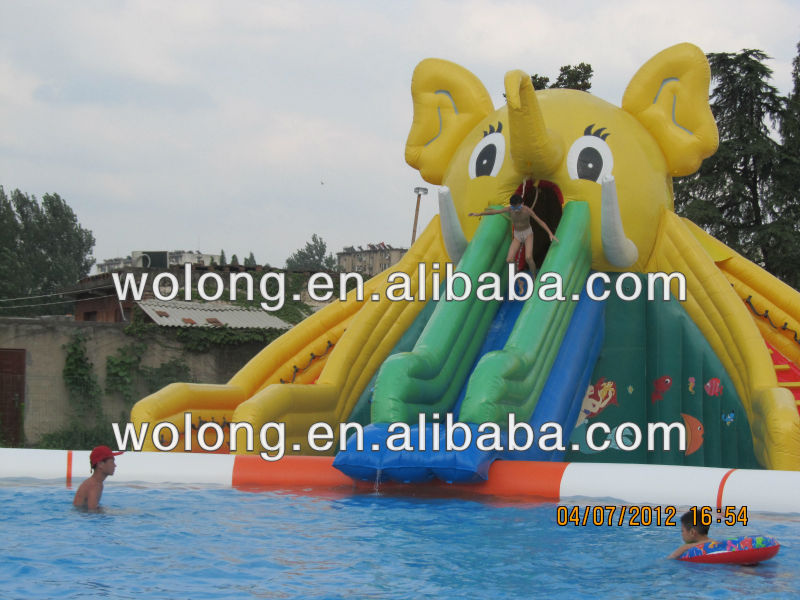 best seller inflatable water slide