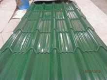colorful galvanized metal roofing tile