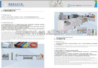 silicone rubber tube/pipe/profile extruder machine(ISO001:2000,CE, 2015 new design)