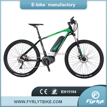 hot sell ebike electric bycicle with mid drive center motor 250w