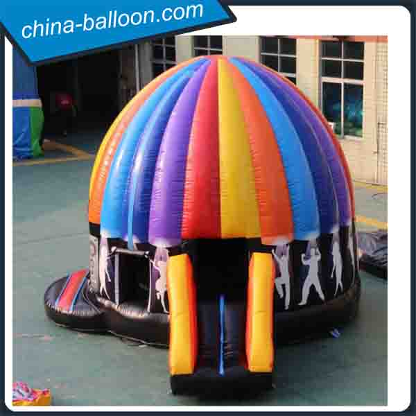 Newest big outdoor inflatable music party tent/inflatable disco tent for sale