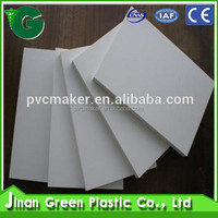 2016 sale pvc sheet white thickness 5mm