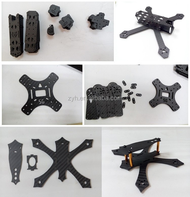 Custom Quadcopter Quadrotor Multirotor Carbon Fiber Motor Mount
