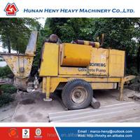 SCHWING BP3000 HDR18 Concrete Trailer Pump Stationary Concrete Pump