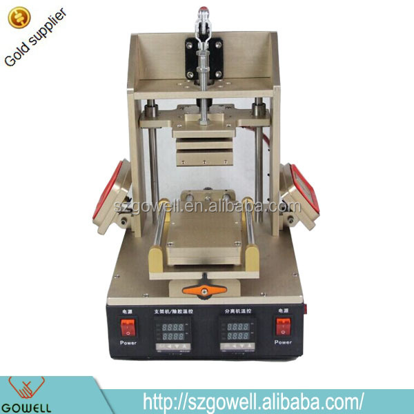 New Products 5 in 1 Frame splitting+ glue remove+Lcd separator with pre-heating built-in vacuum pump mobile repair machines