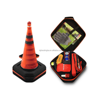 2015 New Road Car Emergency Assistance Kit with Safty Cone