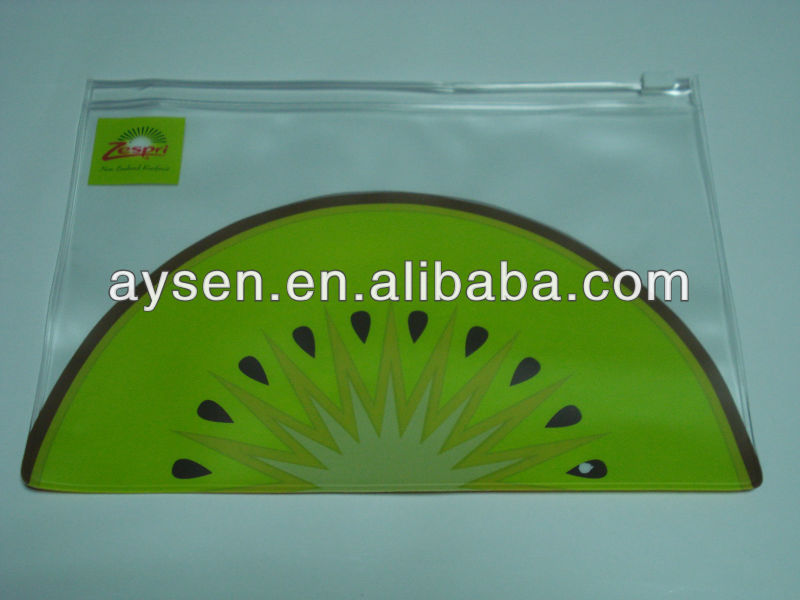 frosted PVC ziplock bag for packaging