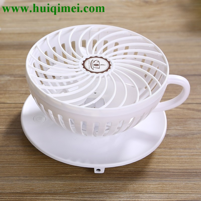 Coffee cup mini fan Cute fashion new product ideas 2015