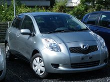 2007 Toyota Vitz Japanese used car