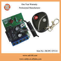 433mhz home automation, wireless remote control relay switch for smart home(ZK1PC+ ZY2-E)