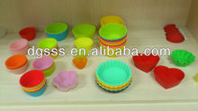 silicone mould/mini cake moulds