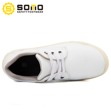 SOMO Esd Wear-Resisting Anti-Puncture White Safety Shoe For Food Industrial