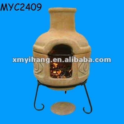 Jard n barbacoa horno de barro chimeneas identificaci n del producto 599796071 - Chimeneas de barro ...