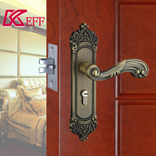 Safety zinc alloy mortise door lock assembly for apartment house