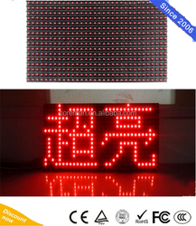 10mm Pixel Pitch Led Displays Module / P8 P10 1r 32 16 Led Module rgb video 16x16 dots full color module