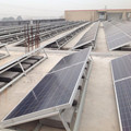 whole sale high efficiency 100KW solar rooftop mounting structures aluminum for home use and commericial use