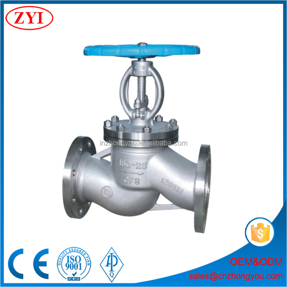 Wholesale BS 1873 design standard globe valve pn25