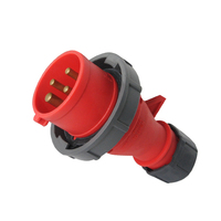Plug Industrial plug IP67 CE certification waterproof CEE industrial plug 16A/380-415V~3P+E/6h
