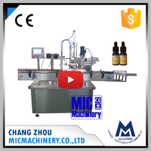 Mic L40 Automatic 10ml Liquid Bottle Filling Capping Machine for vial and e-liquid