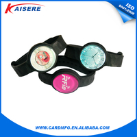 Free sample! new arrival custom silicon rfid watches
