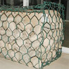 mesh wire 2.6mm gabion basket box wire fencing/gabion stone cost