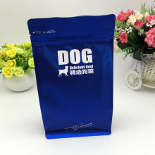 High quality 16oz dog treat flat bottome ziplock packaging bags