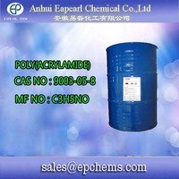 Hot poly(acrylamide) chemicals used in paper making mill