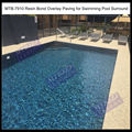 Epoxy Porous Paving for Swimming Pool Surround