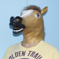 horse latex mask deluxe party mask carnival mask