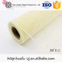 Decorative PP floral plastic cheap flower mesh wrap