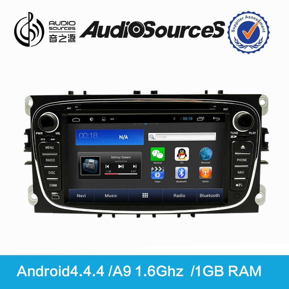 Software Update Android Car DVD GPS Navigation Players by Mirror Link for Ford D90-8607