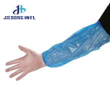 Best quality promotional plastic protective arm sleeves cover pe waterproof disposable medical for laboratory