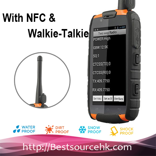 New Arrival Walkie Talkie & GPS Quad Core Rugged Android Buy Cheap WaterProof Cell Phone