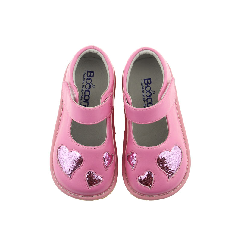 children leather girls fancy girls squeaky shoes kids toddler shoes 2016