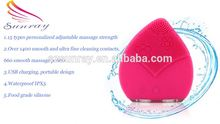 Face washing device electronic clean brush pore facial cleanser brush