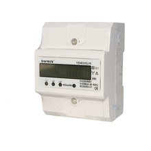 2016 New Type 3 Phase 4 Wire Kwh Meter Din Rail Energy Meter Electronic Meter Smart Electric Meter