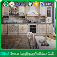 modular cherry kitchen cabinet with granite juparana golden black for israel market
