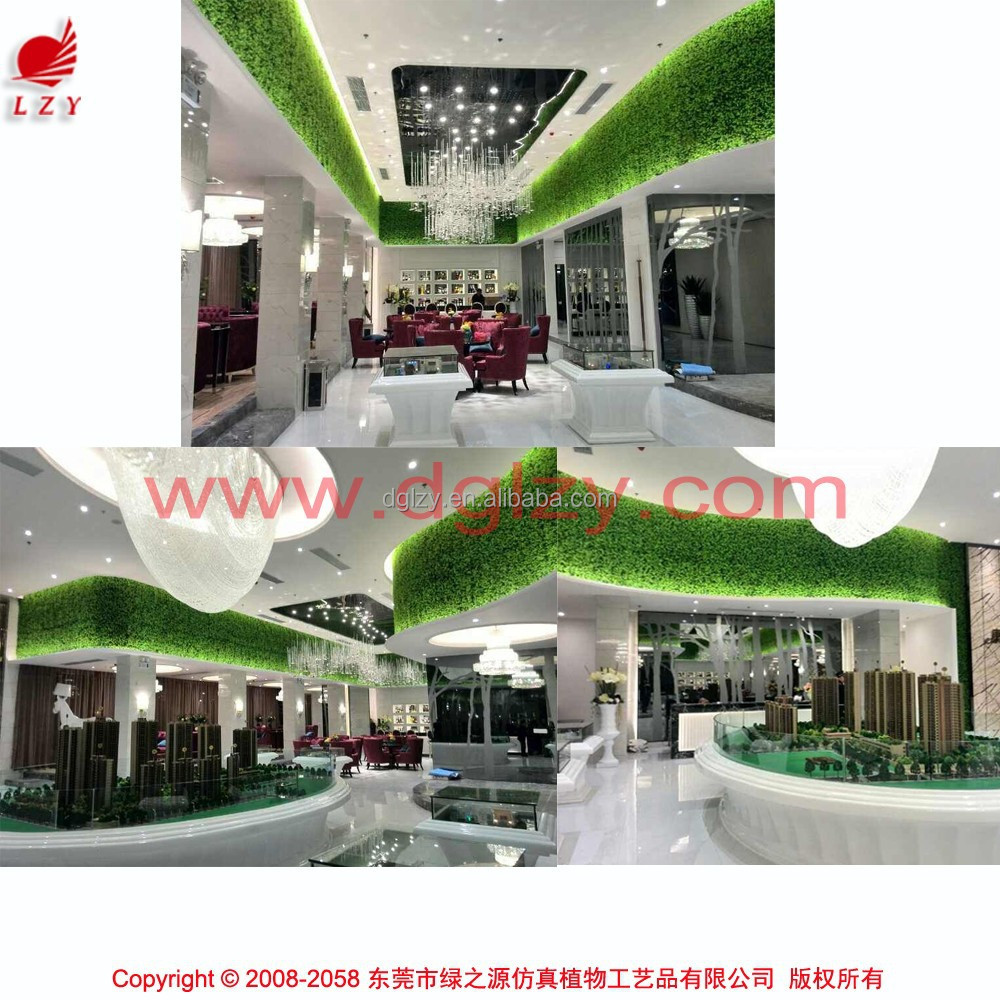 Artificial indoor wall plant wall decoration artificial for Artificial decoration