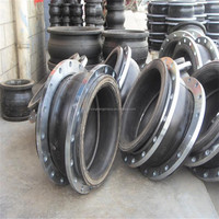DIN/EN High Quality DN32-DN1600 Flanged rubber expansion joint