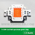 VANQLED Led full spectrum chips with built in diodes 5w 10w 380-840nm
