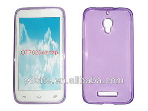 Factory Smart Phone TPU Case For Alcatel One Touch Snap OT-7025X