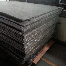 Aluminum honeycomb core used for deodorant stick , sandwich panel machine