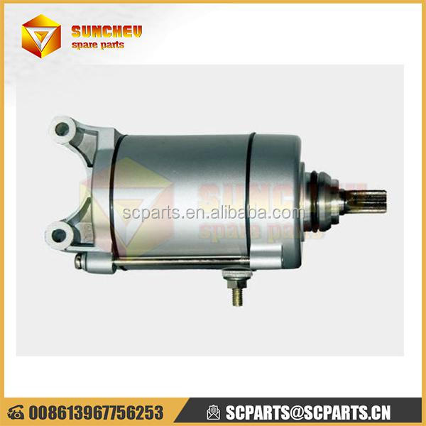 high performance atv parts mechanical starter motor pc200-8 parts