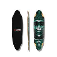 Freeride and Downhill Longboard Deck Made Of Canadian Maple